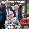 National Chairman, Jenny Rideout, with National Vice-Chairman, Janice Collins, National Trustee, Marilyn Lawton and the Mayor of Preston, Councillor Brian Rollo with his wife, Trisha