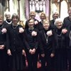 Amersham Evening TG choir at the Chiltern & Castle carol concert.