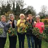 Beddington Evening Guild recently formed a Craft Club. This photo is at their second meeting where they produced some wreathes/decorations suitable for Christmas.