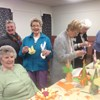 Blaenavon Guild had fun making some delightful and fun Easter craft decorations!