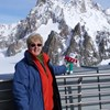 Margaret Kilworth from Bramley Rotherham Guild recently went to Italy for a holiday. Here she is seen with TG Ted at the Skyway in Mont Blanc. It looks really cold doesn't it, -6 C apparently!