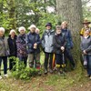 Bransgore Evening Guild enjoyed a Walking Picnic in the New Forest.