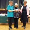 Eastwood Cockethurst Guild Chairman, Vivian Gunn presented Christine Searle with a cheque for £2,000 at their March meeting, which will go towards the purchase of a new dialysis machine for Southend Hospital.