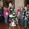 Knowle Guild entered a Christmas tree at Treefest in Bristol.