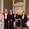 Members of Mirfield Evening Guild as the guests of Kirklees Mayor Councillor Jim Dodds and his Mayoress Carol Dodds at the Mayor's Charity Concert in Huddersfield Town Hall.