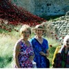 During the summer, members from Lincoln Minster Guild visited the poppies at Lincoln Castle.