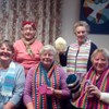 Ladies of Portchester Evening Guild have been busy knitting hats, scarves, gloves and mittens to sell at the Queen Alexandra hospitals Funky Knit Day on 7th of February 2018.