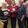 Rotherham and District Federation held a Quiz and here is TG Ted with the winners Win, Stef and Chris.