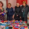 Sedgley Morning have been knitting sensory bands which were presented to Emma Butler, local fundraiser for the Alzheimers Society, together with a cheque for £500.00.