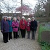 Worcester St Johns Amblers started their year by visiting the beautiful churchyard at Birlingham near Pershore, Worcestershire.